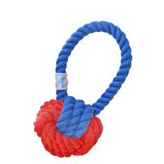 Waggo - Waggo Dog Rope Ball Toys