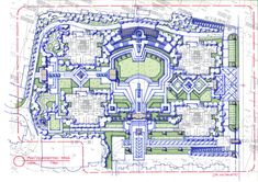 Sketch Landscape plan:Arc-Deco