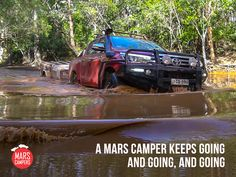 It'll never let you down!  Check out our great range at www.marscampers.com.au or call 1300 667 868 to speak with one of our camper trailer experts today.   #marscampers #campertrailers