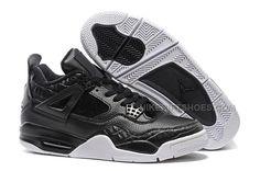 "http://www.nikeriftshoes.com/nike-air-jordan-4-pinnacle-blackblacksail.html NIKE AIR JORDAN 4 ""PINNACLE"" BLACK/BLACK-SAIL Only $97.00 , Free Shipping!"