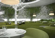 Фото — Ресторан Чайный Сад — Дизайн интерьеров