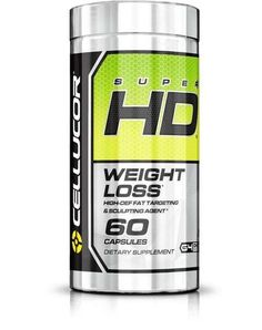 CELLUCOR SUPER HD 60 caps fat burner weight loss free shipping  #Cellucor