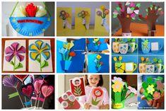 pritt anyák napja ötletek anyák napjára Baby Boom, Blog, Diy, Spring, Bricolage, Blogging, Do It Yourself, Homemade, Diys