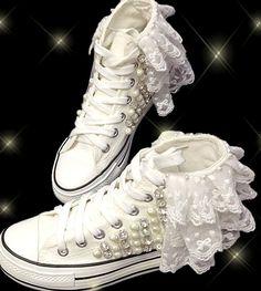 Pas cher Chaussures de mariage / plate   forme sneakers / femmes sneakers / jardin de mariée / chaussures de mariage, Acheter  Chaussures sans talons pour femmes de qualité directement des fournisseurs de Chine:   Détails du produit   les chaussures sont faits main, lorsque vous passez un ordre d'achat, nous aurons 7 jours pour f