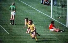 Celebrating the winner 1979