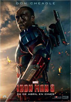 Iron Man 3. Todas las imágenes nuevas en www.Sensacine.com #DonCheadle