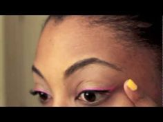 Bright Eyeliner How To - College Fashion