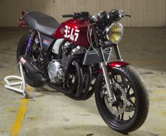 A Garage For Special Motorcycles And Cafe Racers Find This Pin More On Honda CB1100