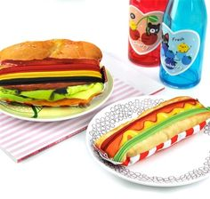 yumm sandwitch pencil case