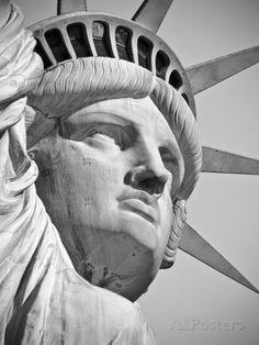 USA, New York, Statue of Liberty Fotografie-Druck von Alan Copson bei AllPosters.de
