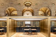 Crew Offices and Cafe by Henri Cleinge, Montreal – Canada