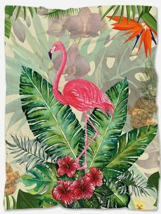 Provide warmth and comfort with this Flamingo Fleece Blanket. With its incredible design and vibrant colors, it will make your home even more beautiful. It is a perfect gift for someone you want to make happy and at the same time feel comfortable. Polar Fleece Blankets, Summer Design, Make Happy, Flamingo, Vibrant Colors, The Incredibles, Make It Yourself, Fabric, Gifts