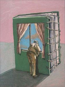 .  perspectives are endless depending on who is looking out the window!
