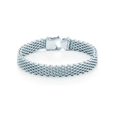 I would wear this every day! // Tiffany Somerset™ bracelet. Oxidized sterling silver. | Tiffany & Co.