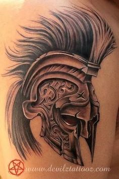 Image result for spartan tattoo