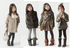 Cute little girls outfits - Zara Kids Fashion Kids, Little Girl Fashion, Look Fashion, Winter Fashion, Toddler Fashion, Fashion Clothes, Fall Clothes, Babies Fashion, Sweet Fashion