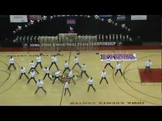 State Dance Competition (Cedar Falls All Male Routine)