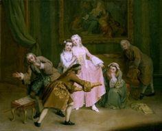 Blind-Man's Buff - Pietro Longhi - The Athenaeum