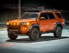 Grill light ideas Overland 4runner, Toyota 4runner Trd, 4runner 2015, Toyota Trd Pro, Toyota Tacoma, Suv Trucks, Toyota Trucks, Daihatsu, Toyota Forerunner