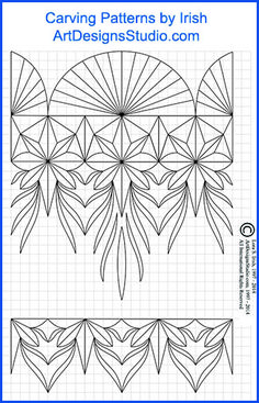 Chip Carving Patterns by Lora Irish