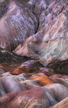 Twenty Mule Team Canyon ~ Death Valley National Park, California