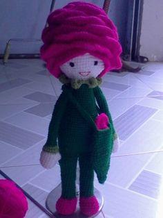 Rose Roxy made by Van L - crochet amigurumi pattern by Zabbez