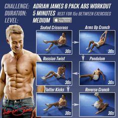 5 min ab workout
