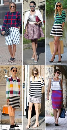 Inspiration: Stripes plus... - Blue is in Fashion this Year