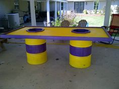 Crawfish table