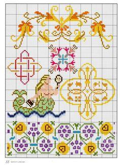Gallery.ru / Фото #17 - Elizabethan Cross Stitch - Orlanda