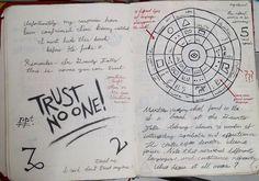 Gravity Falls Journal 3 Replica - Trust No one by leoflynn