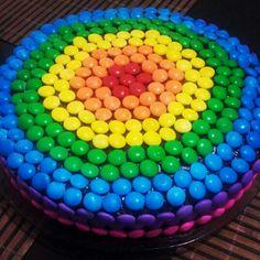 Bolo Colorido - Rainbow Cake