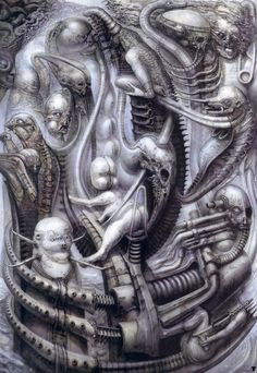 National Park I by H. R. Giger