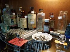 Vintage medicine is scary and beautiful!