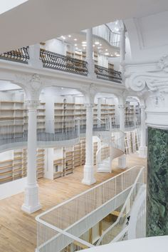 Cărturești Carusel Bookstore in Bucharest photographed before opening   photo by Cosmin Dragomir   carturesticarusel.ro #amazing #bookstore #carturesti
