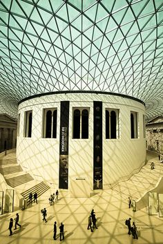 British Museum...one of the greatest museums in the world. And it's free to the public, just like all British Museums.