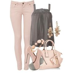 Pink and grey, my other favourite colours!!!