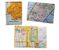 Map Wallets. Take your world with you.
