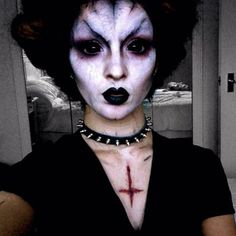 Demon!! A day late but happy halloween!! #demon #halloween #makeup #faceart…