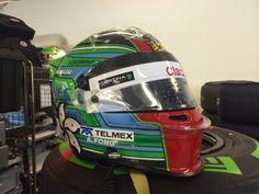 Adderly Fong new helmet in Abu Dhabi FP1 !