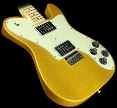 Fender FSR Classic Series Telecaster Deluxe in vegas gold Fender Telecaster Deluxe 72, Fender Squier Telecaster, Fender Guitars, Bass Guitars, Guitar Store, Classic Series, Vintage Guitars, Cool Guitar, Guitar Lessons