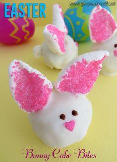 Easter Bunny Cake Bites Recipe