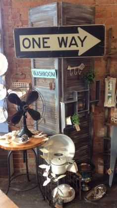 Industrial chic!  Lots of fun stuff to add to your decor.  Available at The Shops at 101, 101 S Saginaw St, Holly, MI