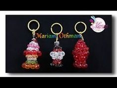 طريقة عمل ميدالية فانوس من الكريستال _ مريم عثمان   How to make crystal lantern keychain - YouTube