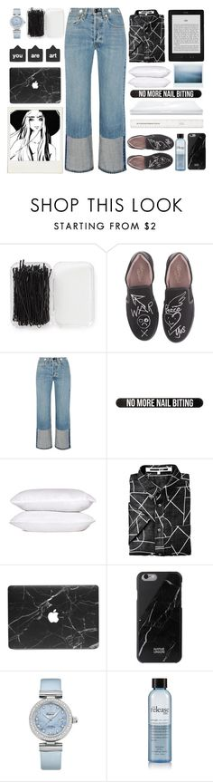 """""""u r art"""" by emcf3548 ❤ liked on Polyvore featuring Forever 21, Vivienne Westwood, rag & bone, Bershka, Native Union, OMEGA and philosophy"""
