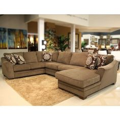 COSMO MARBLE SECTIONAL Gallery Furniture