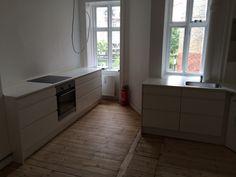 Køkken opsat
