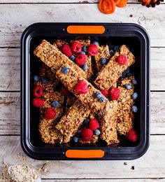 These are excellent for a quick breakfast and work equally well as a lunchbox filler. They are stuffed to the brim with good-for-you seeds, oats and nuts.