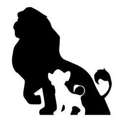 -Disney's Lion King Inspired Simba/Mufasa Silhouette Decal for Home, Car, Laptop, Yeti Disney's Lion King Inspired Simba/Mufasa Silhouette Decal for Home, Ca – FTW Custom Vinyl - Roi Lion Simba, Lion King Simba, Disney Lion King, Lion King Nursery, The Lion King, Art Disney, Disney Diy, Disney Decals, Art Roi Lion