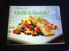 $.99 Pampered Chef cookbook. Found at Goodwill.